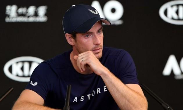 Маррей програв у першому матчі Australian Open