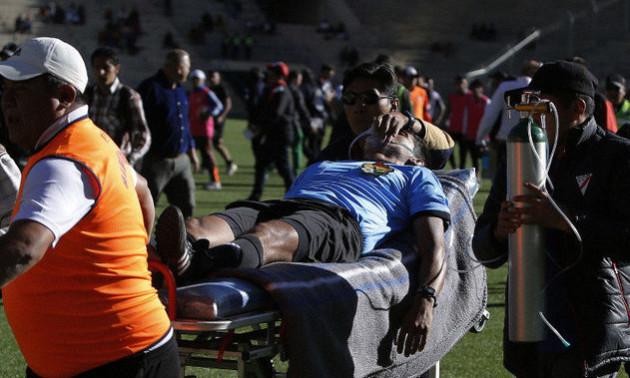 У Болівії арбітр помер під час матчу