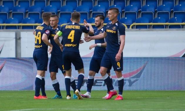 Дніпро-1 – Олімпік 3:1. Огляд матчу