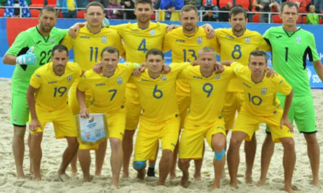 Збірна України отримала право виступити на Всесвітніх пляжних іграх