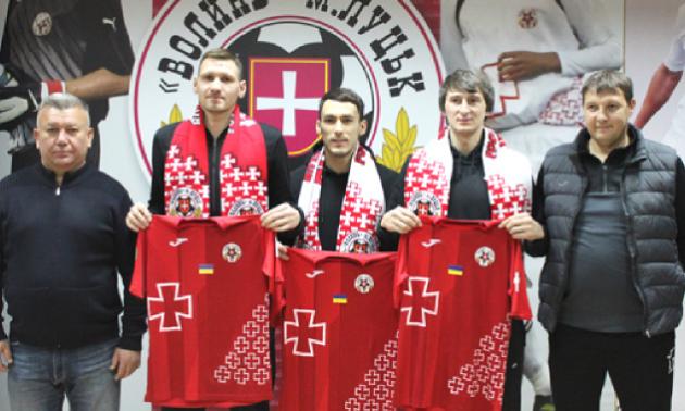 Волинь підписала трьох гравців