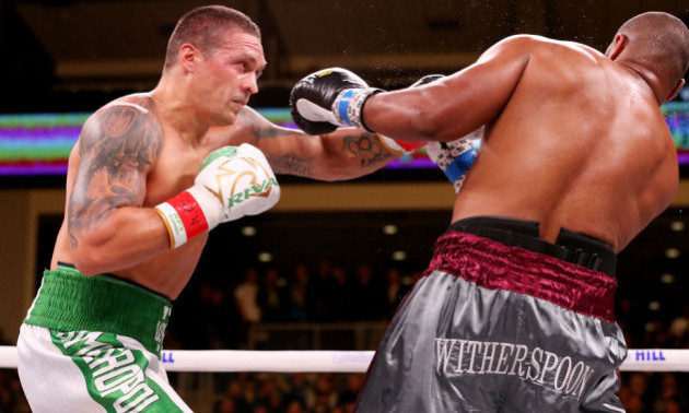 Руїс розкритикував дебютний бій Усика у суперважкій вазі
