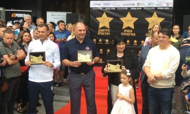 Шевченка увіковічнили на Алеї зірок у Києві
