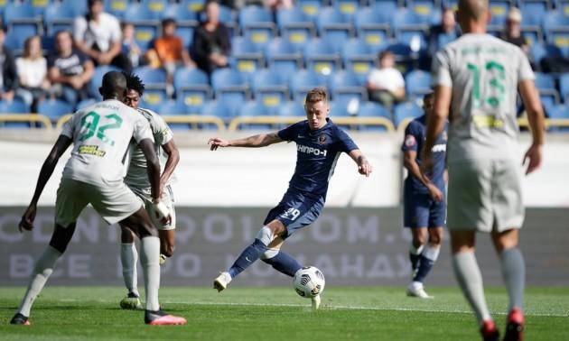 Булеца врятував Дніпро-1 у грі проти Ворскли в 5 турі УПЛ