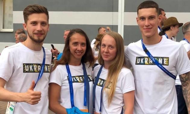 Українці вибороли срібло Європейських ігор у стрибках на батуті