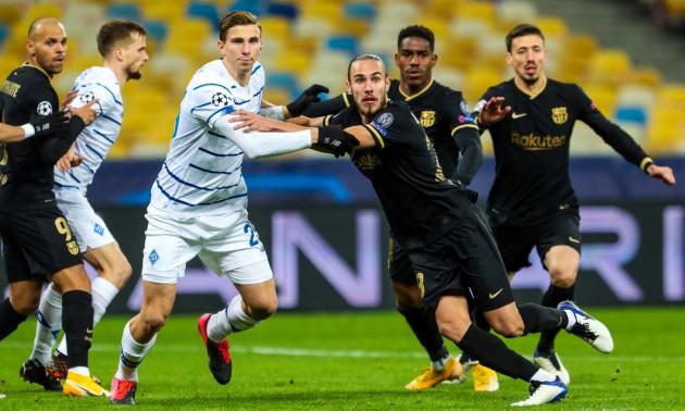 Динамо Київ - Барселона: відео голів і огляд матчу