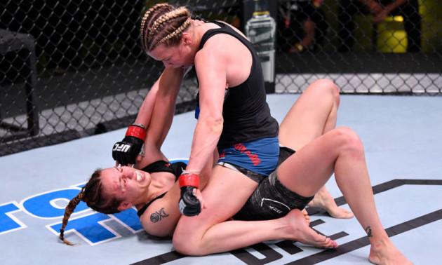 Антоніна Шевченко без шансів поступилася на UFC on ESPN
