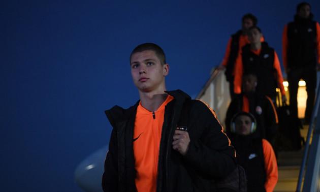 Шахтар прибув до Харкова з новим захисником