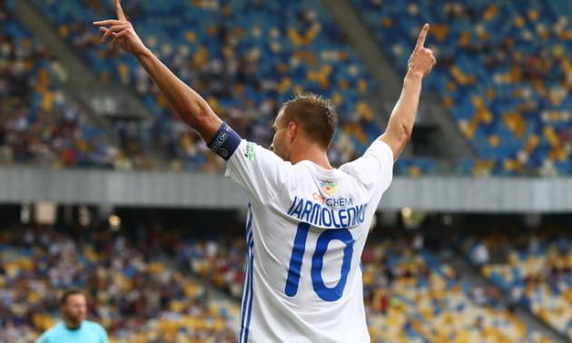 13 років тому Ярмоленко феєрично дебютував у Динамо