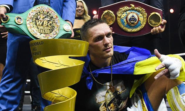 Усик став найкращим іноземним боксером року у Великій Британії