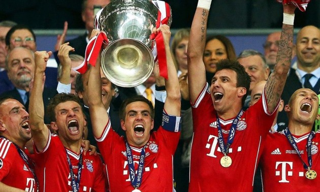 7 років тому Баварія переграла Боруссію у фіналі Ліги чемпіонів. Кубок потримав і Тимощук