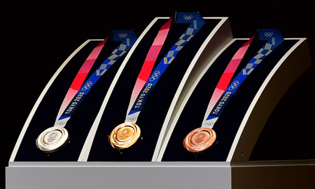 Показали медалі Олімпійских ігор 2020