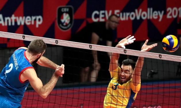 Українські уболівальники влаштували акцію протесту на матчі Україна - Росія