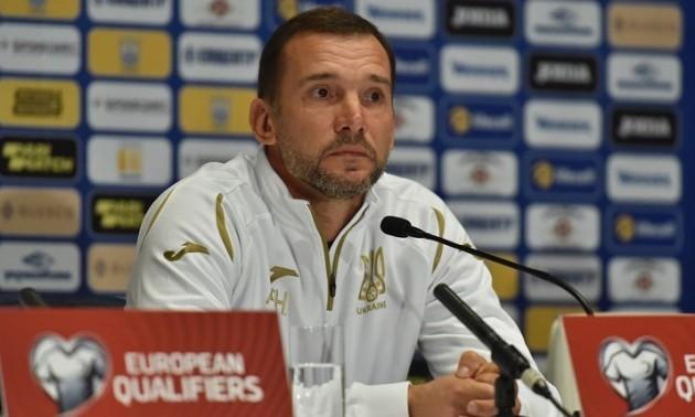 Шевченко розраховує на свіжих гравців у матчі із Португалією
