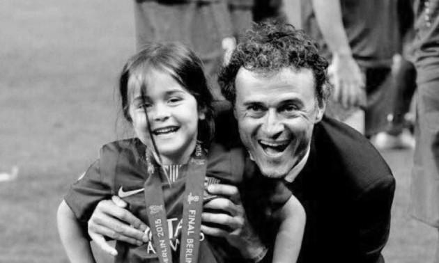 У Луїса Енріке від раку померла 9-річна донька