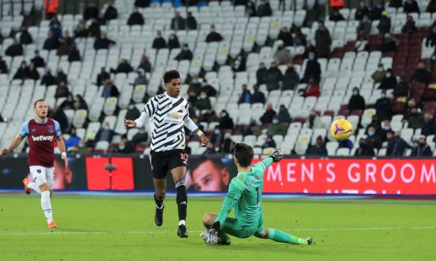 Манчестер Юнайтед розібрався з Вест Гемом у 11 турі АПЛ