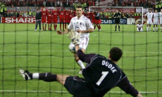 Жахливий фінал для Шевченка. 14 років тому Ліверпуль виграв у Мілана Лігу чемпіонів