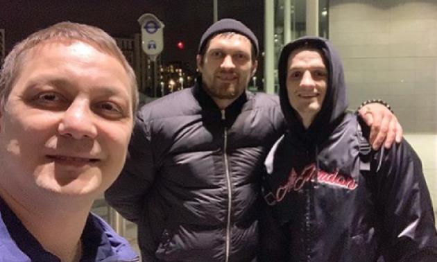 Коронавірусом захворів російський тренер, який контактував з Усиком
