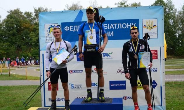 Доценко виграв мас-старт на чемпіонаті України