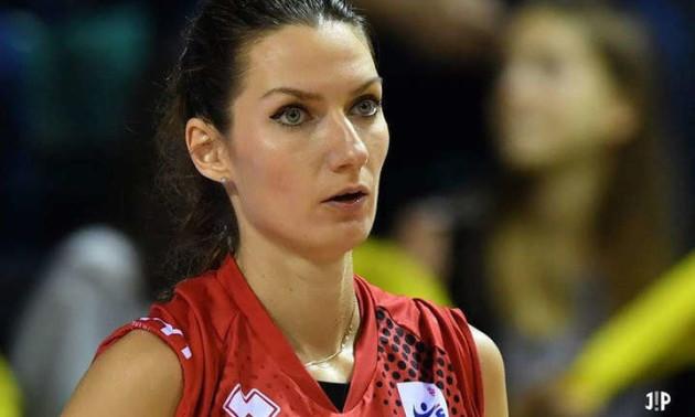 Титулована українська волейболістка змінила клуб у Франції