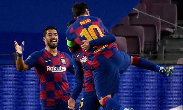 Барселона без проблем перемогла Наполі та пройшла до 1/4 Ліги чемпіонів