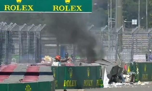 Жахлива аварія сталася в Росії під час етапу чемпіонату світу у Формулі 2