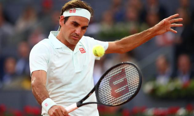 Феноменальна гра Федерера у сітки - серед найкращих моментів дня в Мадриді
