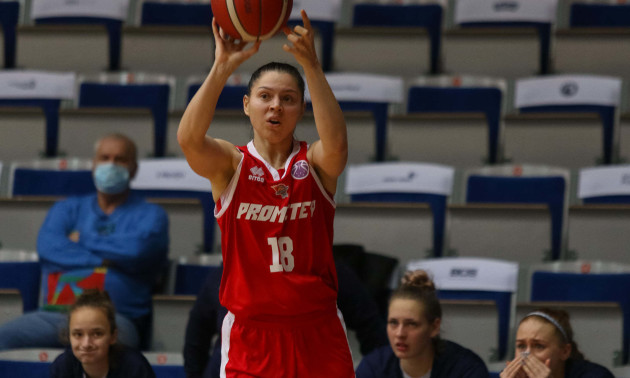 Прометей здобув другу перемогу в Європейській жіночій баскетбольній лізі