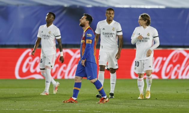 Мессі не забиває Реалу майже 3 роки