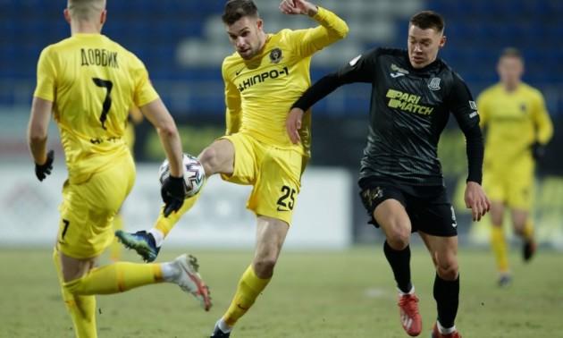 Дніпро-1 обіграв Олімпік у 15 турі УПЛ