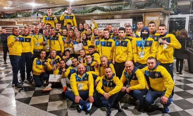 Збірна України здобула 5 золотих нагород на юніорському Євро-2020