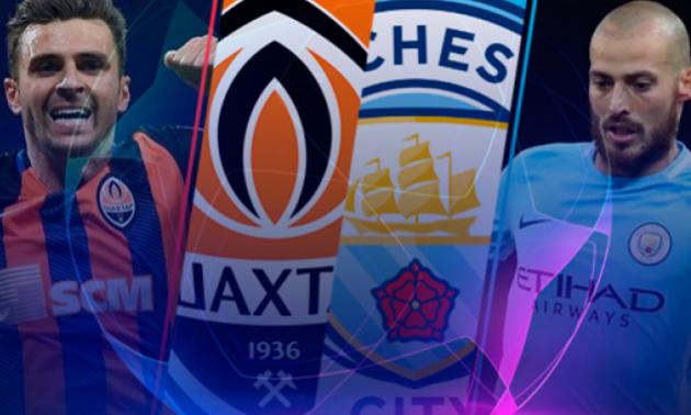 Шахтар - Манчестер Сіті 0:3. Відео голів