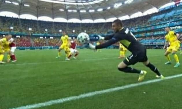 Пропускаємо. Збірна Австрії виходить вперед у матчі проти України