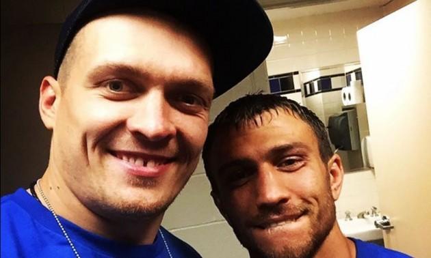 Ломаченко та Усик змінили бокс на плавання. ВІДЕО