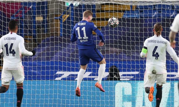 Вернер відкриває рахунок в матчі проти Реала