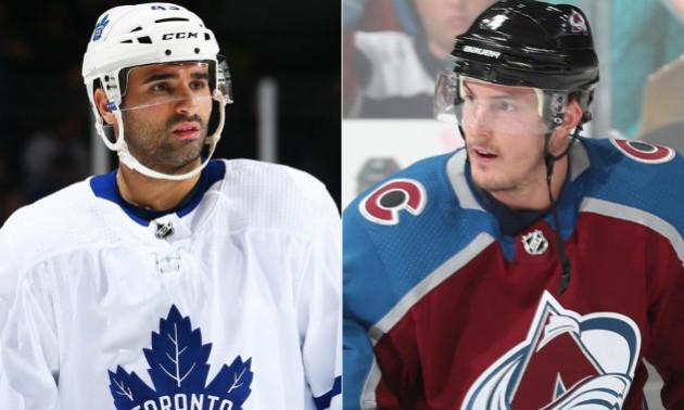 Торонто і Колорадо здійснили подвійний обмін гравцями