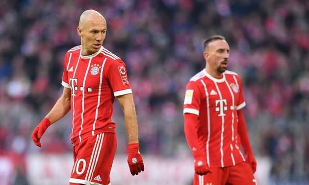 Баварія хоче провести прощальний матч для Роббена і Рібері