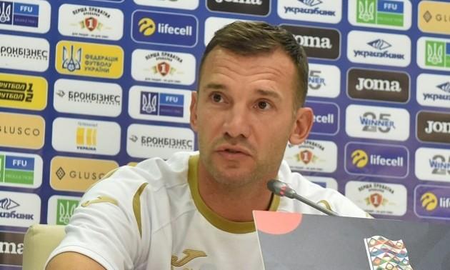 Шевченко вказав на завдання збірної України у матчі із Литвою