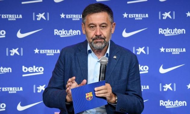 Бартомеу подав у відставку з посади президента Барселони