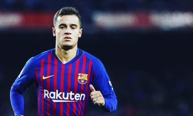 Барселона планує продати Коутінью