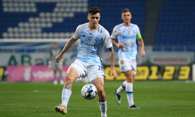 Шапаренко назвав причину свого прогресу у Динамо