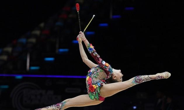 Російських гімнасток нагородили під гімн СРСР