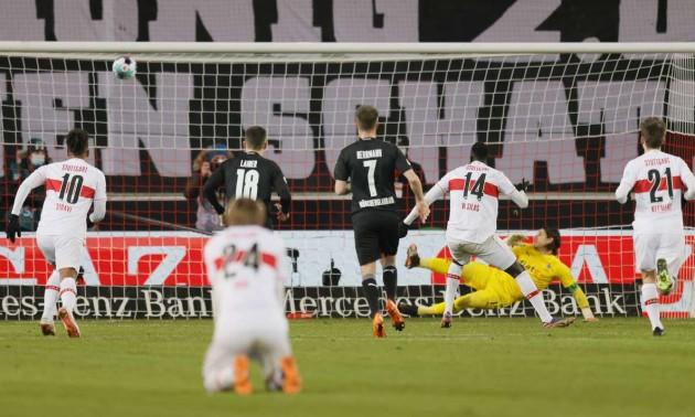 Штутгарт врятувався у матчі проти Боруссії М у Бундеслізі