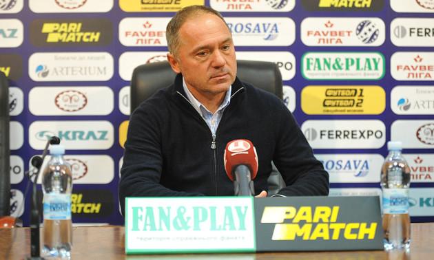 Косовський залишив посаду головного тренера Ворскли