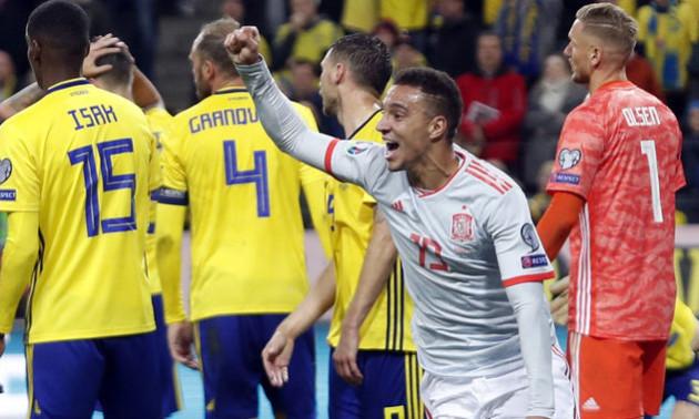 Швеція - Іспанія 1:1. Огляд матчу