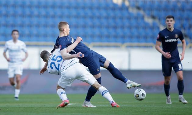 Динамо - Дніпро-1 2:0. Огляд матчу