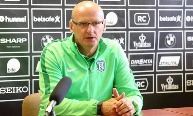 Тренер Литви: Ми прагнем заробити очки у матчі із Україною