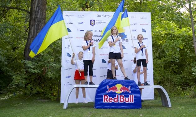 Україна посіла третє місце на Чемпіонаті Європи та Африки  з вейкбордингу