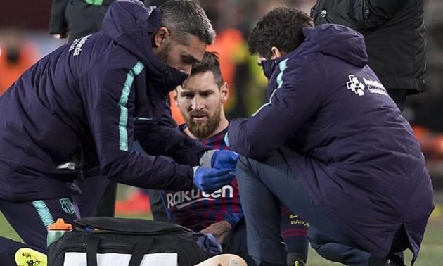 Мессі може пропустити матч проти Реала через травму