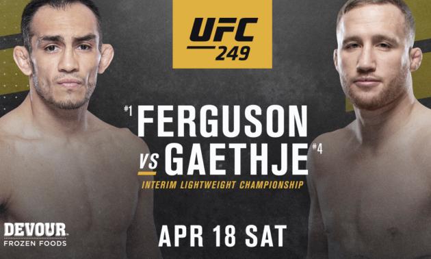 UFC 249: оголосили список всіх боїв турніру